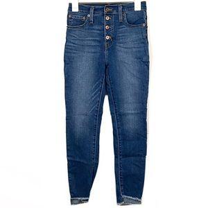 J. Crew Mercantile High Rise Curvy Skinny Jeans